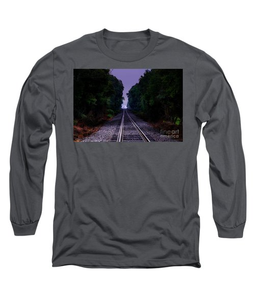 Moon And Steel Long Sleeve T-Shirt