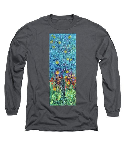 Moon Flowers Long Sleeve T-Shirt