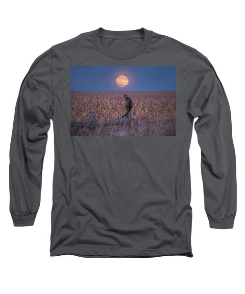 Moon Kitty  Long Sleeve T-Shirt