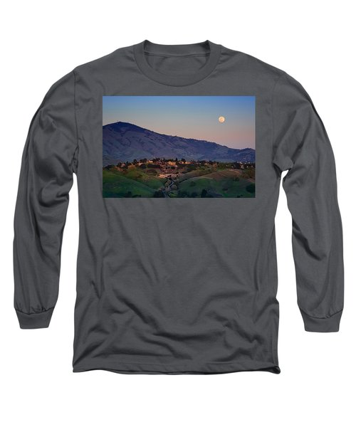 Moon Over Diablo Long Sleeve T-Shirt