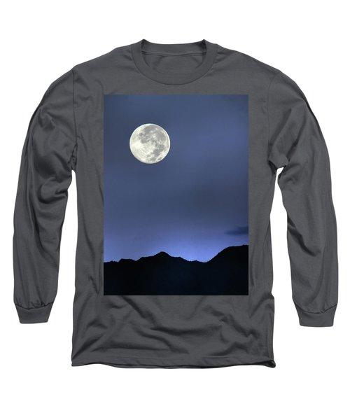 Moon Over Ko'olau Long Sleeve T-Shirt by Dan McManus