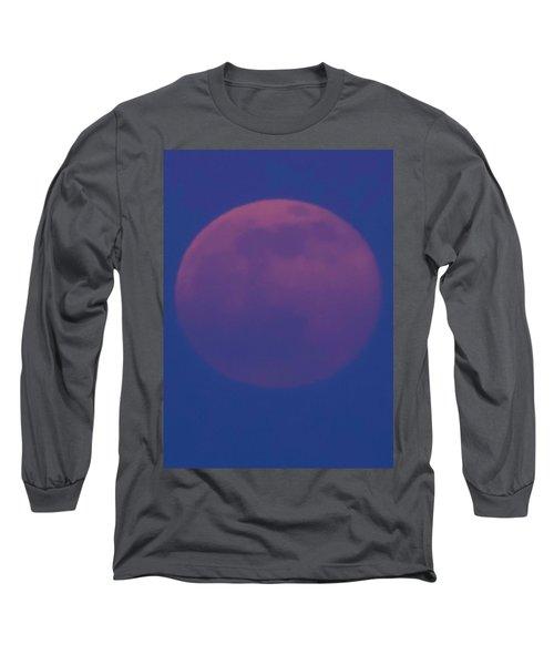 Moon Rise Blue Long Sleeve T-Shirt
