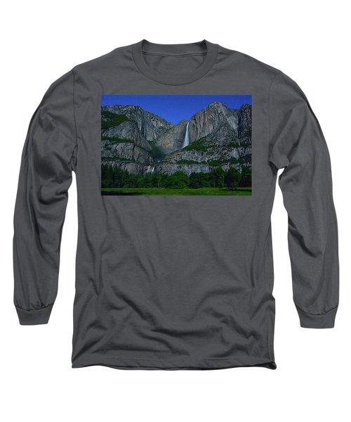 Moonbow Yosemite Falls Long Sleeve T-Shirt