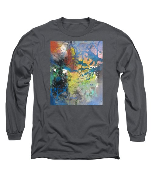 Moonglow Long Sleeve T-Shirt by Becky Chappell