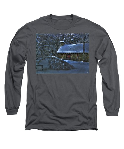 Moonlight On The Stonehouse Long Sleeve T-Shirt
