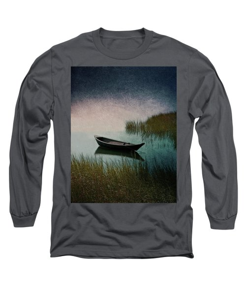 Long Sleeve T-Shirt featuring the photograph Moonlight Paddle by Brooke T Ryan