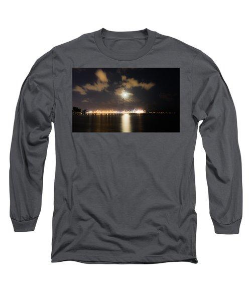 Moonlight Reflections Long Sleeve T-Shirt