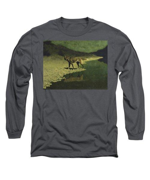 Moonlight, Wolf Long Sleeve T-Shirt