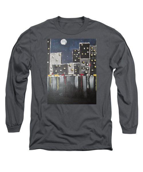 Moonlighters Long Sleeve T-Shirt by Sharyn Winters