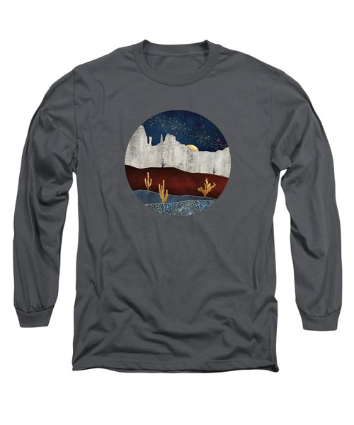Moonlit Desert Long Sleeve T-Shirt