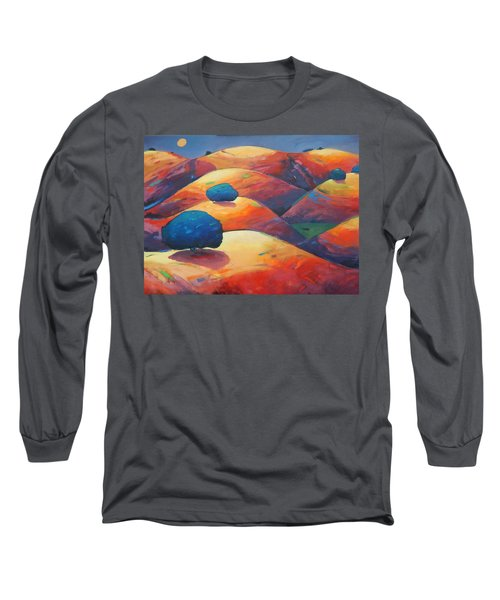 Moonlit Rollers Long Sleeve T-Shirt by Gary Coleman