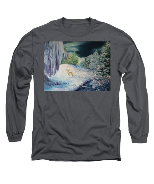 Moonlit Surprise Long Sleeve T-Shirt