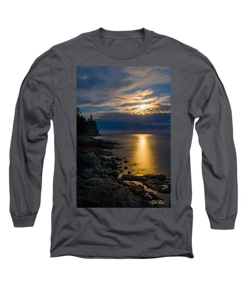 Moonrise From The Cloudbank Long Sleeve T-Shirt