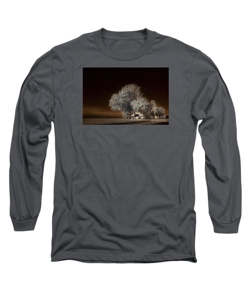 Moonrise Over The Bottoms, October Long Sleeve T-Shirt by William Fields