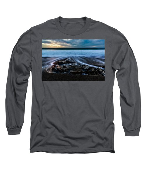 Moonstone Beach In The New Year Long Sleeve T-Shirt