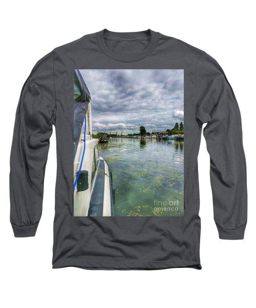 Moored At The Marina Long Sleeve T-Shirt