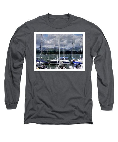 Moored In Beauty Long Sleeve T-Shirt