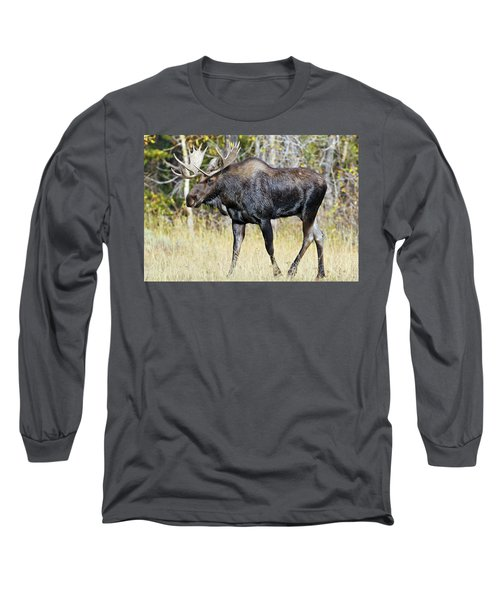 Moose On The Move Long Sleeve T-Shirt