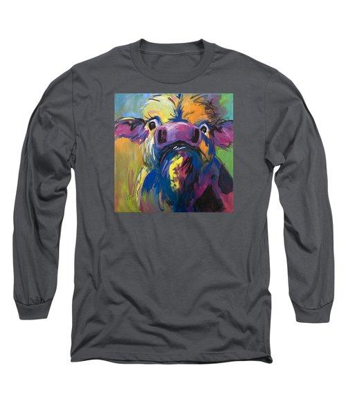 Moove Aside Long Sleeve T-Shirt by Terri Einer