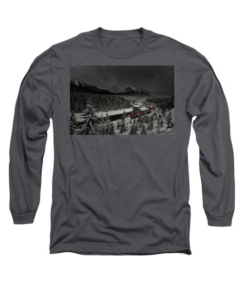 Morant's Curve - Winter Night Long Sleeve T-Shirt