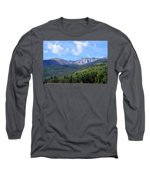 More Montana Mountains Long Sleeve T-Shirt