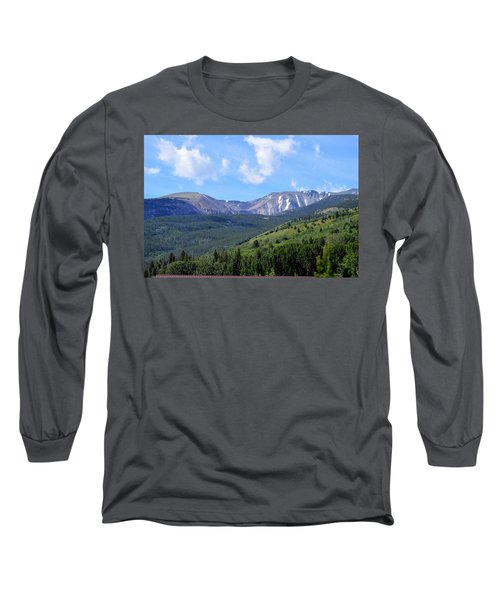 More Montana Mountains Long Sleeve T-Shirt