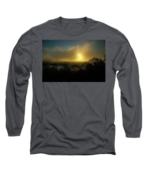 Long Sleeve T-Shirt featuring the photograph Morning Arrives by Karol Livote