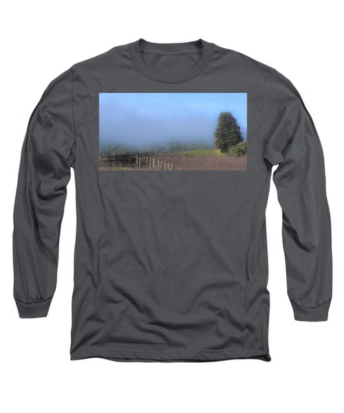 Morning At The Vinyard Long Sleeve T-Shirt