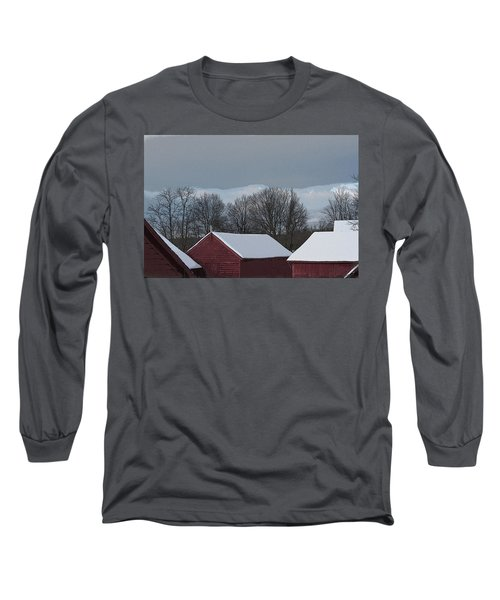 Morning Barnscape Long Sleeve T-Shirt