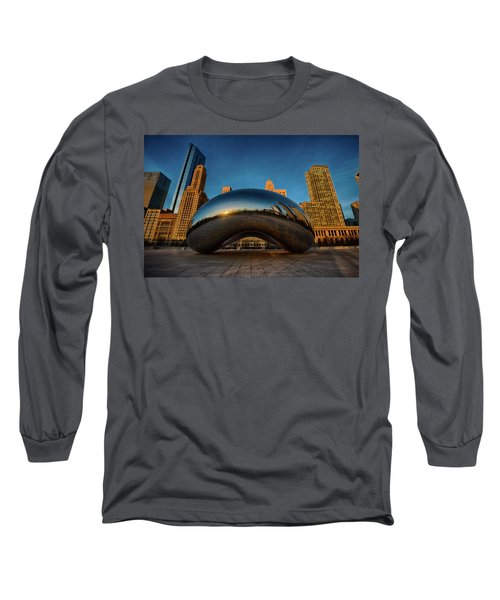 Morning Bean Long Sleeve T-Shirt by Sebastian Musial