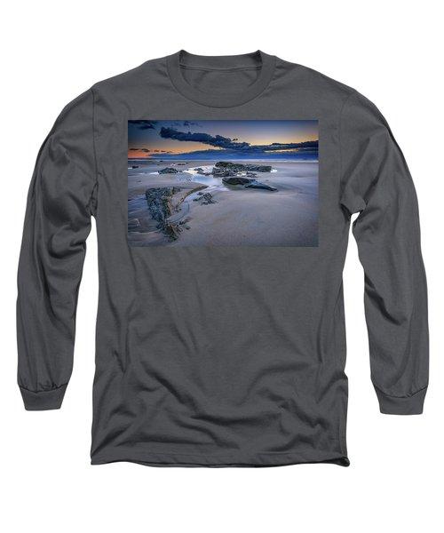 Long Sleeve T-Shirt featuring the photograph Morning Calm On Wells Beach by Rick Berk