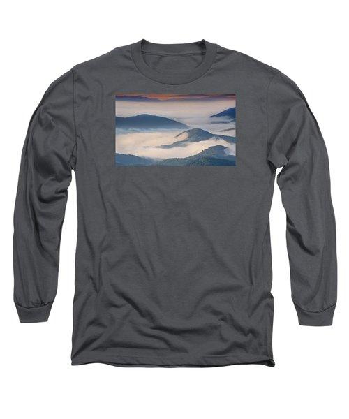 Morning Cloud Colors Long Sleeve T-Shirt