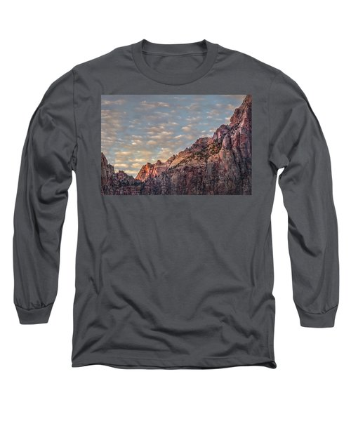 Morning Clouds Long Sleeve T-Shirt
