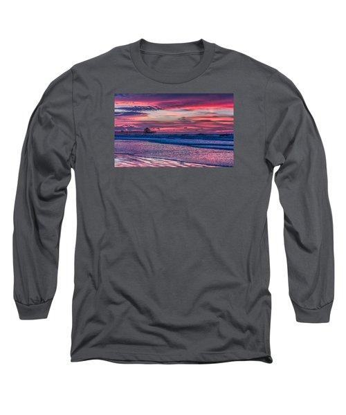 Morning Divide - Folly Beach Sc Long Sleeve T-Shirt