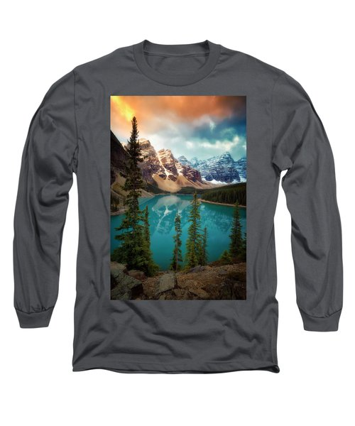 Morning Eruption  Long Sleeve T-Shirt