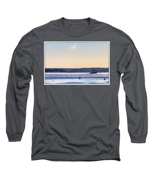 Morning Ferry Long Sleeve T-Shirt