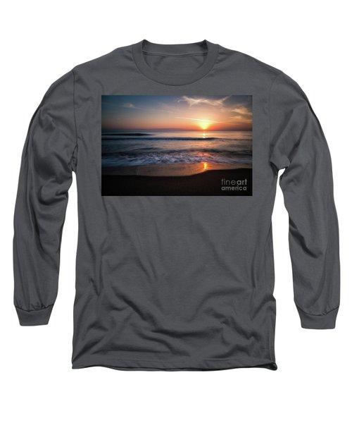 Morning Fire Long Sleeve T-Shirt by Giuseppe Torre