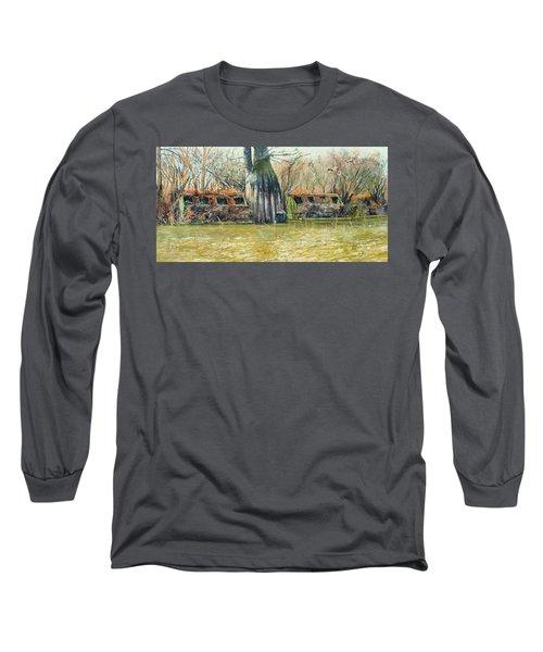 Morning Flight At Little Basin Long Sleeve T-Shirt