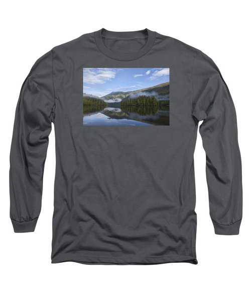 Morning Fog Clearing Long Sleeve T-Shirt by Michele Cornelius