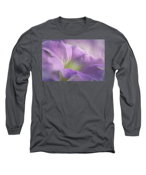 Morning Glory Long Sleeve T-Shirt by Ann Lauwers