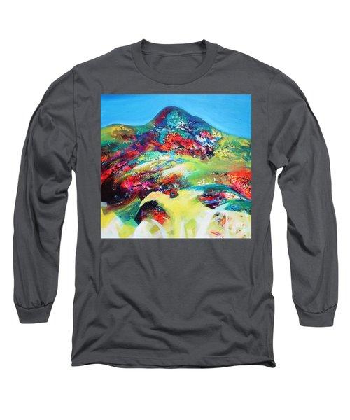 Morning Glory Long Sleeve T-Shirt by Sanjay Punekar