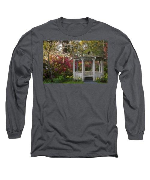 Morning Glow At The Plantations Long Sleeve T-Shirt