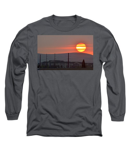 Long Sleeve T-Shirt featuring the photograph Morning Has Broken by AJ Schibig