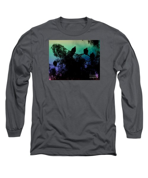 Long Sleeve T-Shirt featuring the photograph Morning Has Broken by Rhonda Strickland