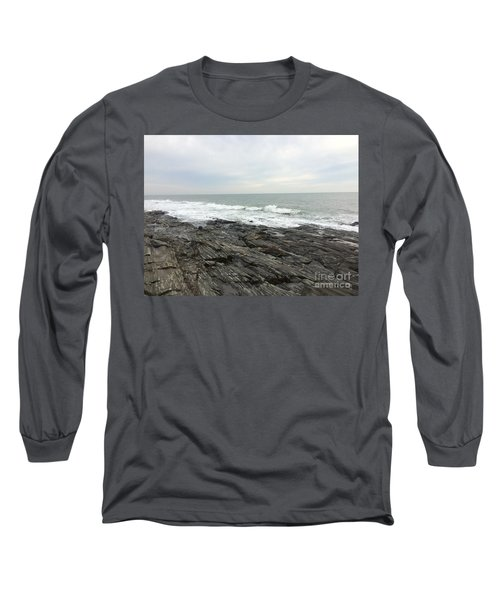 Morning Horizon On The Atlantic Ocean Long Sleeve T-Shirt