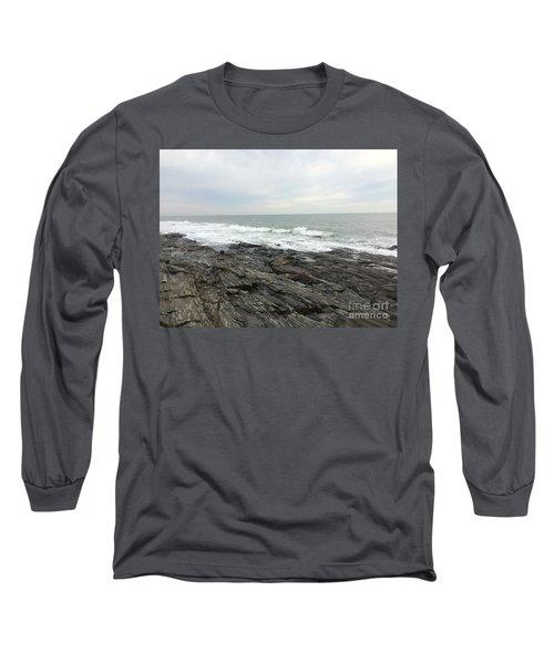 Morning Horizon On The Atlantic Ocean Long Sleeve T-Shirt