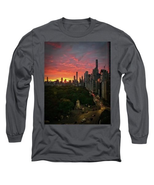 Morning In The City Long Sleeve T-Shirt
