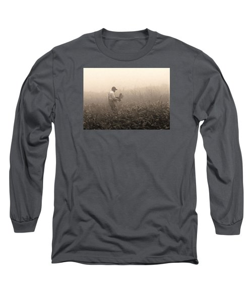 Morning In The Fields Long Sleeve T-Shirt