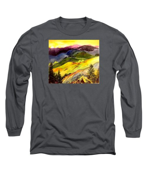 Morning In The Hills Long Sleeve T-Shirt