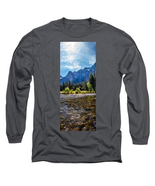 Morning Inspirations 3 Of 3 Long Sleeve T-Shirt